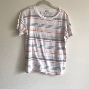 Women's striped Gap t-shirt